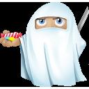 Ninja Ghost Emoticon