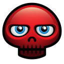 Red Skull Emoticon