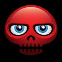 Red Skull Emoticon