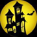Haunted House Emoticon
