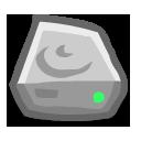 Hard Disk Emoticon