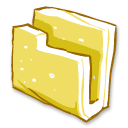 Folder Yellow Emoticon