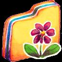 Y Flower Emoticon