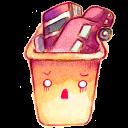 Recycle Bin Full 2 Emoticon