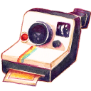 Camera Polariod Emoticon