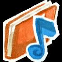 Red Music Emoticon