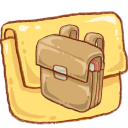 Hp Folder Schoolbag Emoticon