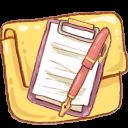 Hp Folder Notepad Emoticon