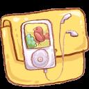 Hp Folder Music 3 Emoticon