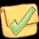 Hp Folder Finished Emoticon
