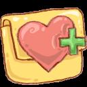 Hp Folder Favheart Emoticon