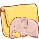 Hp Folder Elephant Emoticon
