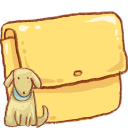 Hp Folder Dog Emoticon