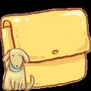 Hp Folder Dog Emoticon
