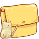 Hp Folder Cat Emoticon