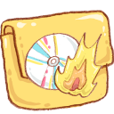 Hp Folder Burn Emoticon