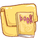 Hp Folder Book Emoticon