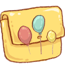 Hp Folder Balloons Emoticon