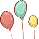Hp Balloons Emoticon