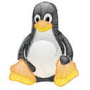 Linux Tux Emoticon