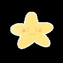 Starry Happy Emoticon