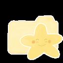 Folder Vanilla Starry Happy Emoticon