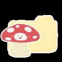 Folder Vanilla Mushroom Emoticon