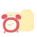 Folder Vanilla Clock Emoticon