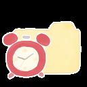 Folder Vanilla Clock Emoticon