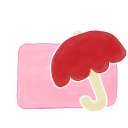 Folder Candy Umbrella Emoticon