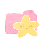 Folder Candy Starry Sad Emoticon