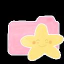 Folder Candy Starry Happy Emoticon
