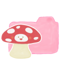 Folder Candy Mushroom Emoticon