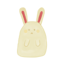 Bunny Sad Emoticon