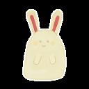 Bunny Happy Emoticon