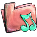 Folder Music Emoticon