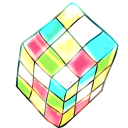 Rubik Cube Emoticon