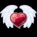 Wing Heart Emoticon