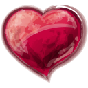 Heart Red Emoticon