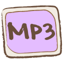 Mp3 File Emoticon