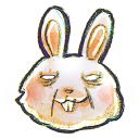 G12 Rabbit Emoticon
