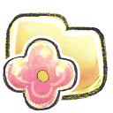 G12 Folder Flower Emoticon