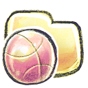 G12 Folder Basketball Emoticon