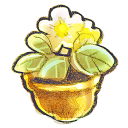 G12 Flowerpot Flower Emoticon