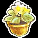G12 Flowerpot Flower Emoticon