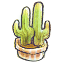 G12 Flowerpot Cacti Emoticon