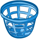 Trash Basket Emoticon