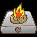 Cooker Fire Emoticon