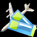 Air Tickets Emoticon