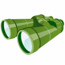 Binoculars Emoticon